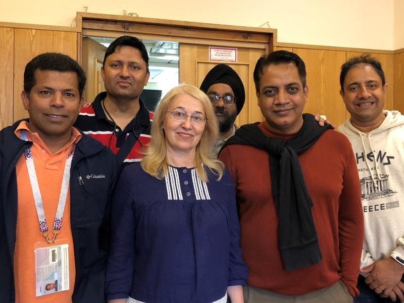 Выпускники Подготовительного отделения посетили ВШ МОП