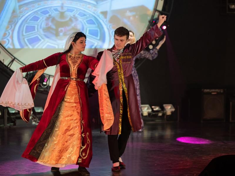 В ВШ МОП прошел 23-й международный студенческий фестиваль «Золотая осень»