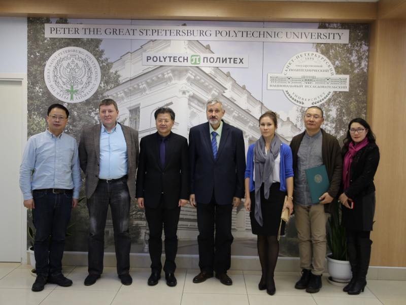 Визит делегации Юго-Западного транспортного университета