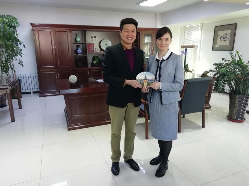 Рабочий визит в Китай