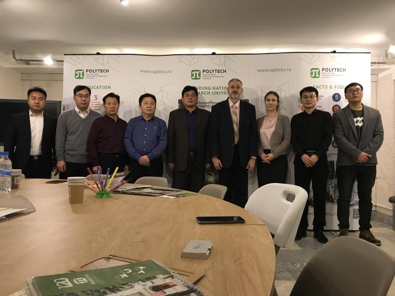 Образовательные организации Китая стремятся к сотрудничеству с СПбПУ