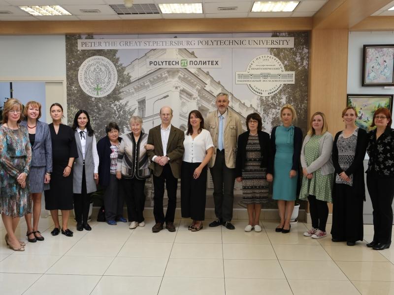 Торжественные мероприятия, посвященные празднованию 30-летнего юбилея сотрудничества между СПбПУ и АИФС