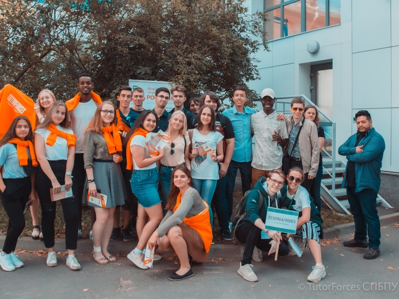 Интерклуб PolyUnion и студенческая организация Tutor Forces провела квест для первокурсников