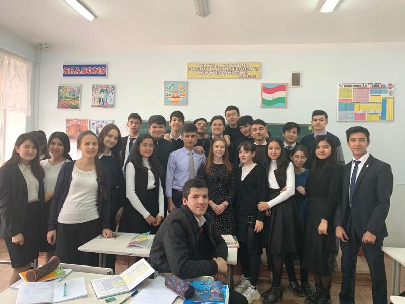 Посещение Российско-Таджикской средней общеобразовательной школы в рамках национального проекта «Образование»