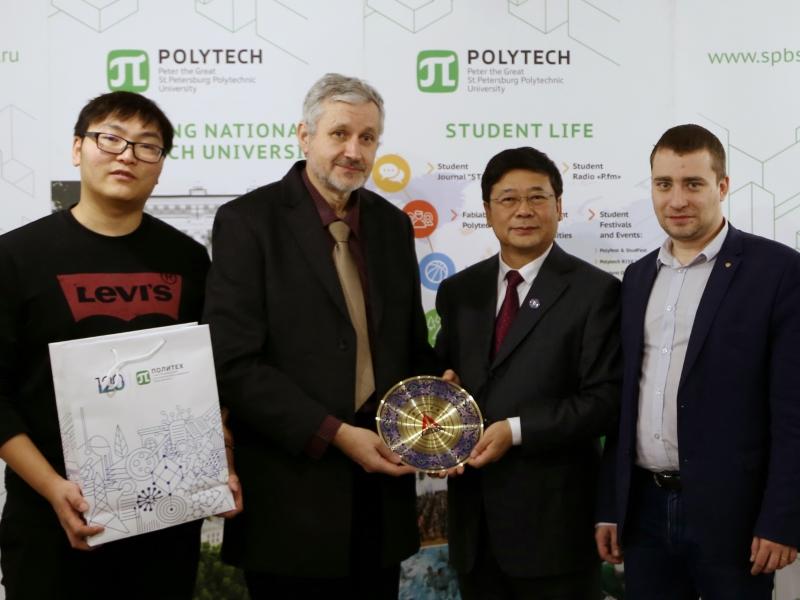 Встреча с представителями Северо-Китайского аэрокосмического института